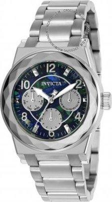 展示品 Invicta 23615 Angel Quartz Crystal Accented Gemstone Dial Stainless Wom