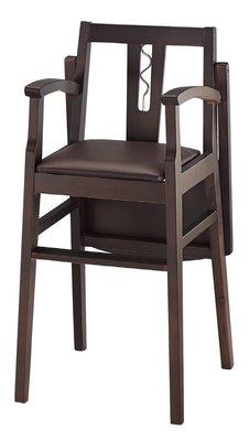 【南洋風休閒傢俱】兒童餐椅系列 - 兒童用餐椅  寶寶用餐椅(加安全帶)   適居家 餐廳   (金283-9)