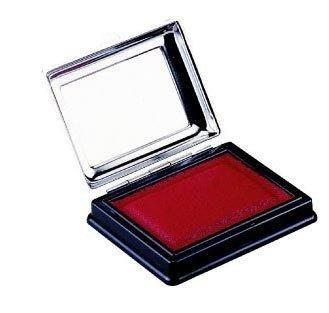 特選艾絨印泥 LIFE NO.96 徠福 方型鐵盒紅色印泥、國畫 支票適用 96x70mm ,特價每個:350元