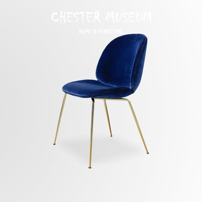 寶石藍金甲蟲椅 甲蟲椅 甲殼椅 單椅 椅子 椅 餐椅 甲蟲 椅 辦公椅 電腦椅 賈斯特博物館 婚禮小物