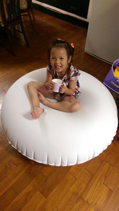 充氣 浮排 運動 瑜珈 平衡 靜坐 旅遊 渡假 健身 靠枕 枕頭 氣墊 浮床 外銷產品 無毒布料 (廣育充氣塑膠)