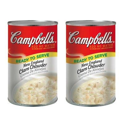 【Visual&M】Campbell's 金寶 新英倫蛤蜊濃湯 1.41公斤2入 好市多代購 Costco