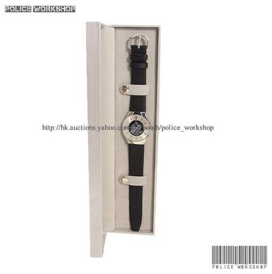 香港警察銀面石英腕錶女裝 Hong Kong Police Leather Wrist Watch Ladies Style 多款