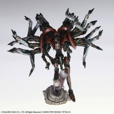 SQUARE EXIN正版盒玩~FINAL FANTAST 太空戰士 召喚獸 改 三代 VOL.3 單款出售:百腕巨人