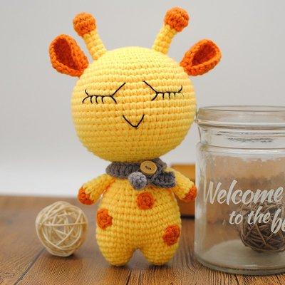特惠菲菲姐家手工diy毛線編織材料包孕婦手編毛絨卡通玩具禮物送視頻囧囧
