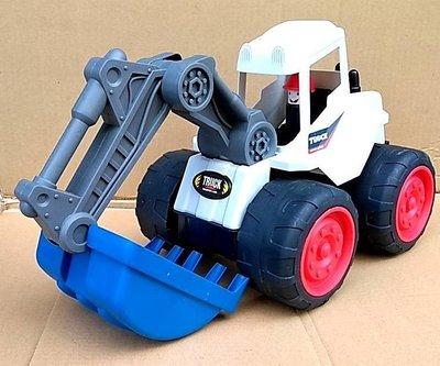 =海神坊=20226 大挖土機 24.5吋 兒童玩具 工程車 模型車 怪手車 玩具車 摩輪車 海灘 沙灘 特價出清