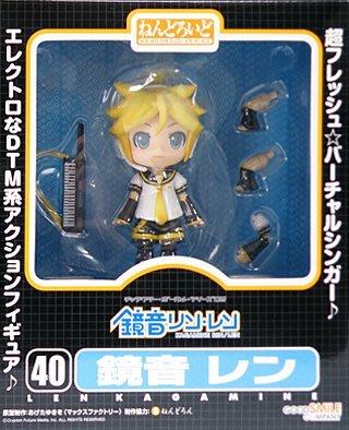 日本正版 GSC 黏土人 初音未來 鏡音連 可動 模型 公仔 日本代購