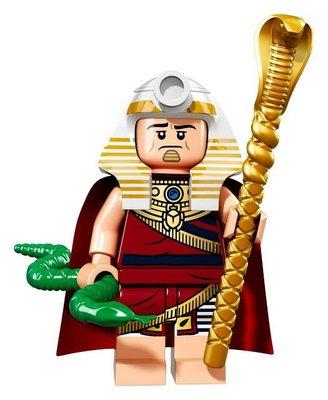 【荳荳小舖】LEGO樂高 樂高人物系列71017樂高人偶包 樂高蝙蝠俠電影#19 法老王 含運200下標即售