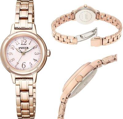 日本正版 CITIZEN 星辰 wicca KH9-965-91 手錶 女錶 太陽能充電 日本代購