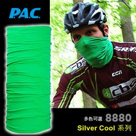 【ARMYGO】P.A.C. Silver Cool 系列多用途頭巾(綠色)