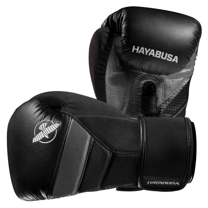 [古川小夫] 隼HAYABUSA精品拳擊手套~UFC冠軍代言拳套~頂級隼10oz黑灰色~MMA 泰拳自由搏擊 GSP款式
