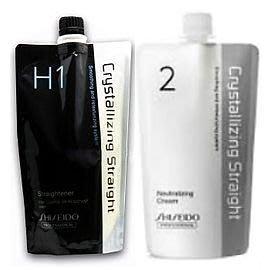 便宜生活館【燙染劑】資生堂 SHISEIDO 新水質感燙髮劑H第一劑+第二劑400ML 全新公司貨 (可超取)