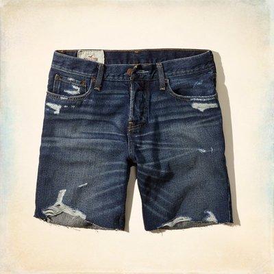全面出清HOLLISTER牛仔短褲 328-280-0029-025 全新真品 HCO AF A&F