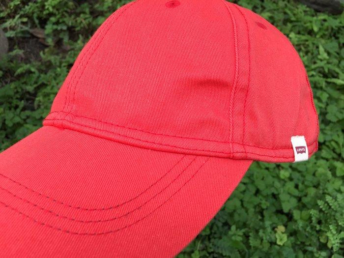 Levi's 老帽 鴨舌帽 橘 日本購買