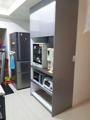 完美廚具 98公分超寬 電器櫃 含托盤...