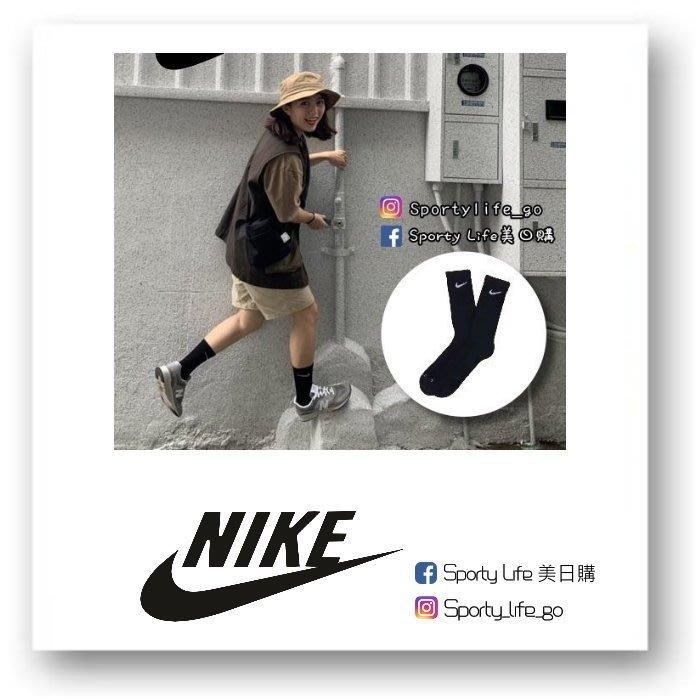【SL美日購】NIKE 黑長襪 Dri-FIT Crew Socks 厚底 襪子 休閒襪 籃球襪 美國代購