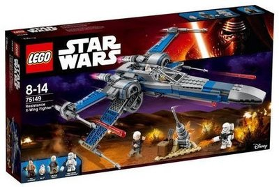 LEGO 樂高 星際大戰系列STAR WARS 75149 Resistance X-Wing Fighter