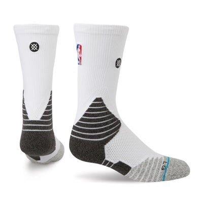 現貨 NBA Stance 359 Solid Crew 球員版 白色中筒襪 KOBE JORDAN LEBRON CURRY kd