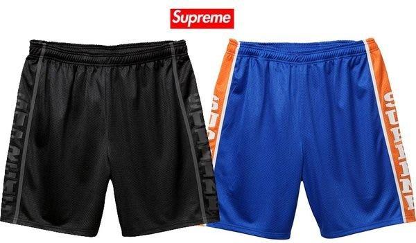 【超搶手】全新正品 春夏 最新 Supreme Basketball Short 字體 籃球褲 運動短褲 皇家藍 S