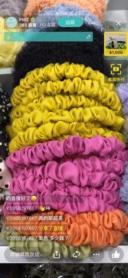 韓國新款 手工 髮飾  雙層紗 髮箍 網紗 緞面