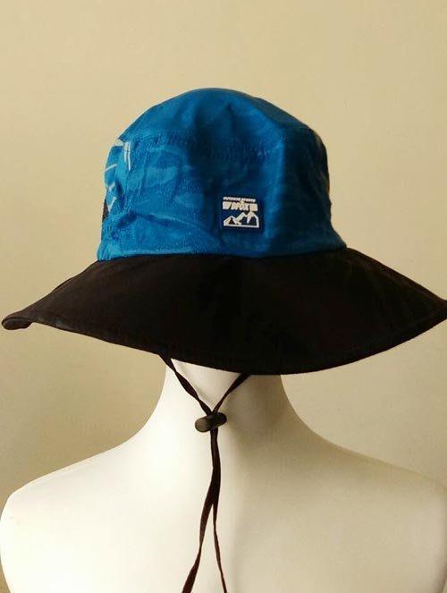 ☆°萊亞生活館 【A524遮陽帽-登山帽-兩側透氣網】賞鳥帽-釣魚帽