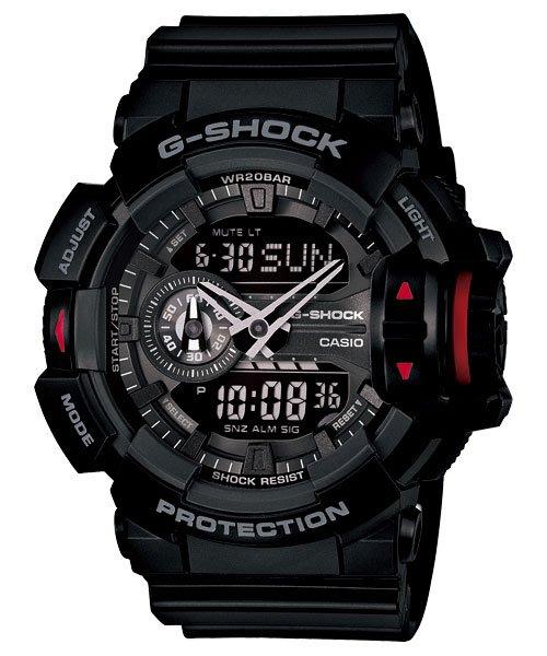 [ㄚ寶3C ] G-SHOCK GA-400-1B 耐衝擊構造、防水200米、LED照明、世界時間、計時碼錶