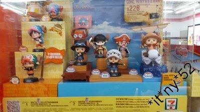 7-11海賊王 CHOPPER WORLD 公仔 10號 特別版 索柏 $15