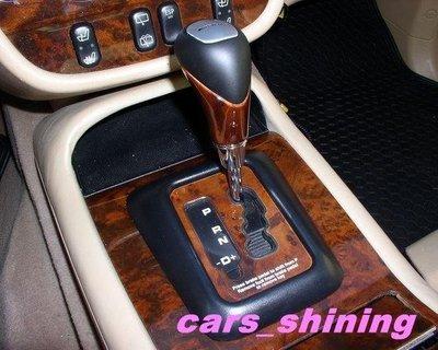 cars_shining 賓士 排檔頭 核桃木W210 W202 W220 W163 W220 94-98, W140