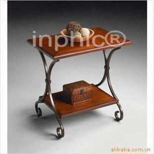 INPHIC-歐式創意實用鐵藝桌子 茶幾簡約 邊幾 休閒桌 置物桌