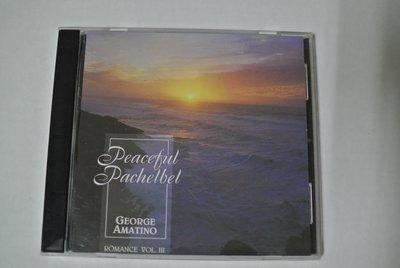 CD ~ PEACEFUL PACHELBEL ROMANCE V. 3   ~ 1993 BANFF