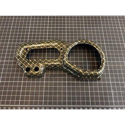 日本製 全新品 正品 金色功夫龍 非水轉印 FZ1Z / FZ1S FZ1 儀表飾蓋 儀表蓋 儀表板 裝飾桿 碳纖維
