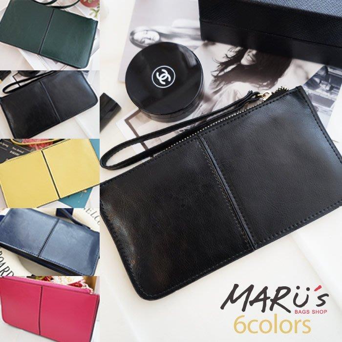 MARU`S BAGS SHOP空氣包托特拉鍊多國貨幣包夾層設計真皮材質卡片收納長夾 [LN-553]日本Anello後背包束口托特包