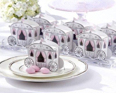 ☆命中注定☆,童話馬車喜糖盒,婚禮小物,送客禮