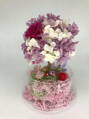 保鮮花 繡球花花樹 preserved flower