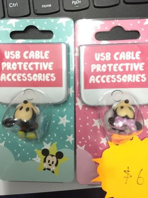 Disney usb cable protective accessories