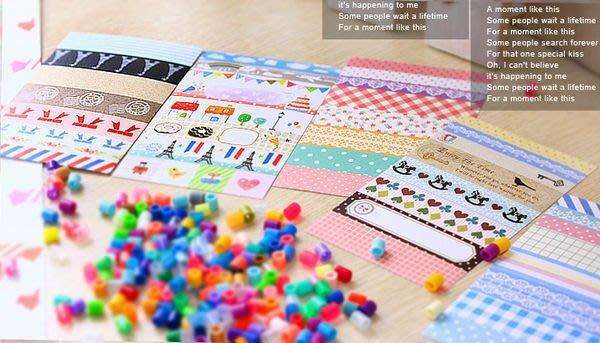 貼紙 裝飾貼紙 紙膠帶 禮品包裝 ( DIY裝飾貼紙SST-13 ) 禮物包裝.行事曆手帳在 i-HOME