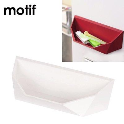 【日本PEARL】Motif 磁吸式口袋型收納架-白