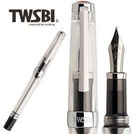 [豪豪小舖]送筆袋 三文堂 TWSBI  VAC 700R 透明 Stub 1.1 負壓鋼筆 負壓上墨鋼筆