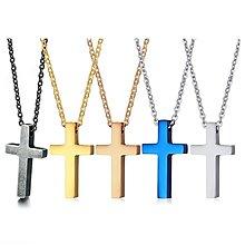《316小舖》今天特價【F459】(優質白鋼項鍊-精緻小型十字架項鍊 /十字項鍊/聖誕節禮物/十字項鏈/耶誕節禮物)