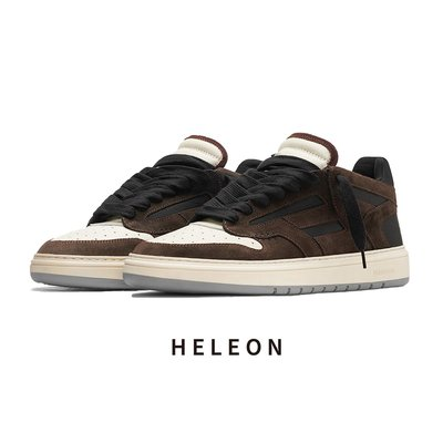 KIKI韓國時尚~何里昂Heleon夏季新款男鞋運動休閒板鞋represent風格小眾潮鞋