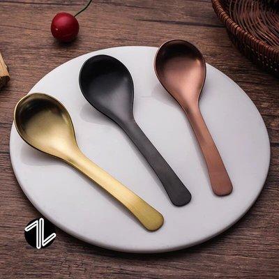 伯爵勺 鍍金湯匙 不繡鋼餐具 野餐用具 野餐湯匙 湯匙