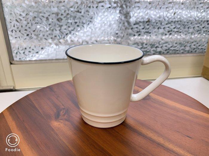 【無敵餐具】陶瓷簡約風馬克杯/拿鐵杯/咖啡杯(8.2x8cm/200cc)~另有大款360cc~量多可詢價【A0382】