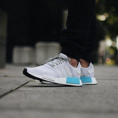 國外正品 Adidas Nmd R1 白灰藍 粉藍 湖水藍 聖保羅 2代 3M 反光 慢跑鞋 男女鞋 S31511