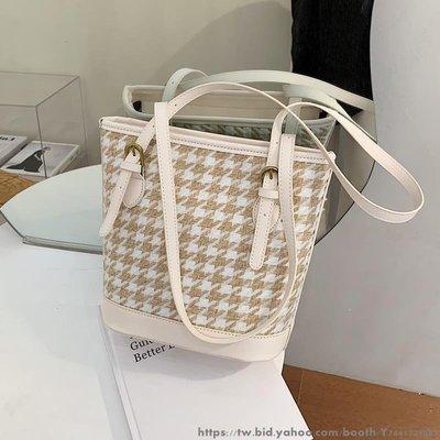 簡約女士單肩大容量包包女流行新款潮時尚百搭ins水桶包 百搭多款式女士包包 女款多款多色水桶包