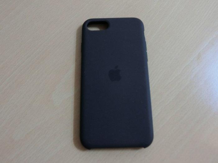 APPLE iPhone SE 矽膠保護殼 - 黑色