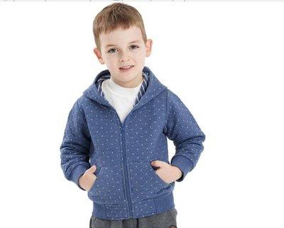 男童衛衣外套 兒童外套夾棉女童衛衣男童純棉厚童寶寶小孩夾克