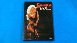 【大謙】《 夏奇拉 / 舞惑現場 DVD Shakira / Live & Off The Rec 》台灣正版二手DVD
