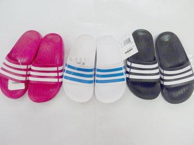 鞋之誠~(請詢問 )ADIDAS 男女童版女版 拖鞋 愛迪達 一體成型  11k~6k號 18~25公分 剩黑和桃 嘉義縣