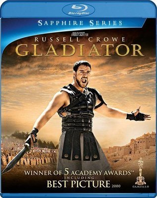 BD 全新美版【神鬼戰士】【Gladiator】Blu-ray 藍光