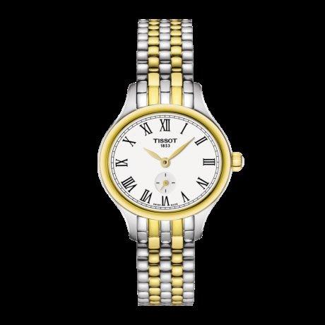 Tissot 天梭臻時系列鋼帶石英女腕錶 T1031102203300